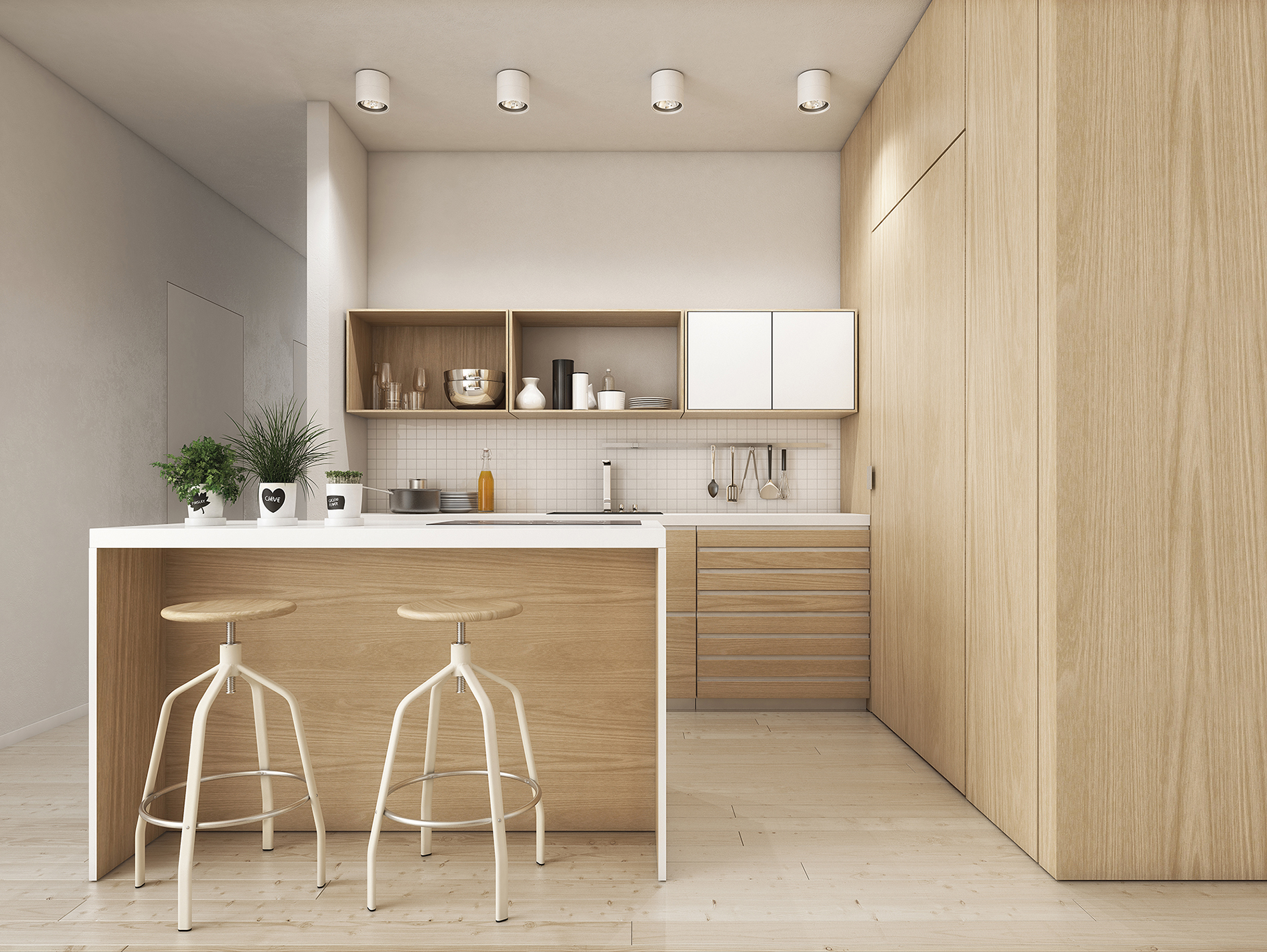 Wood grain - GJ Kitchens - Auckland kitchens, New Zealand ...